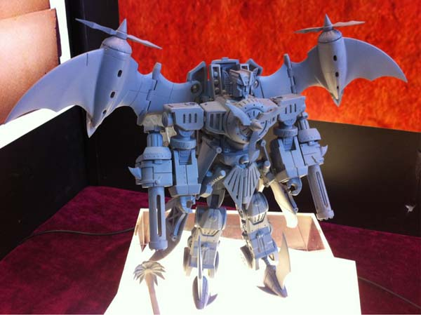 Heart of Steel Starscream Prototype