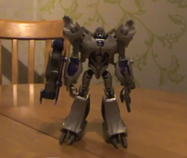 Transformers Prime Powerizer Megatron Review