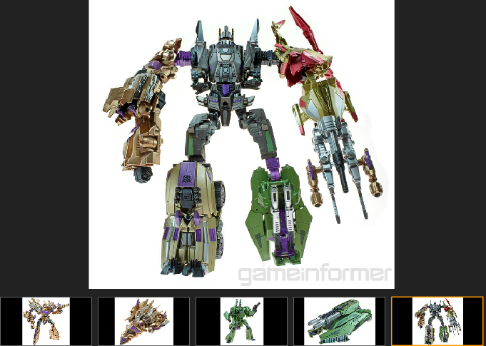 Transformers FOC Bruticus Toy