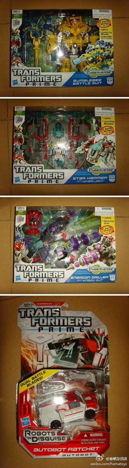 Transformers Prime Playset