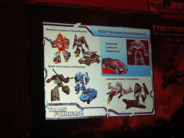 Transformers Scout Class Asian Only