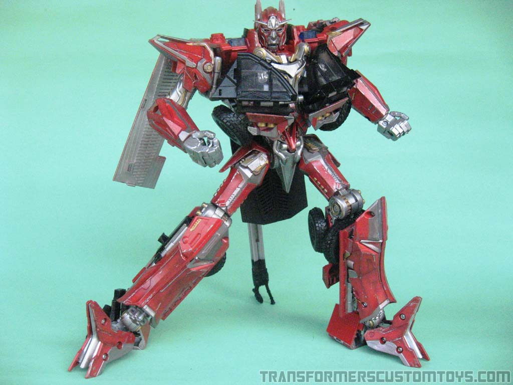 dotm sentinel prime | transformers custom toys | dotm, rotf | movie