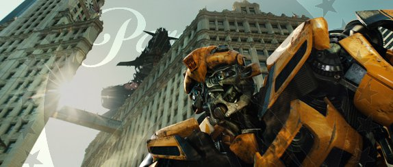 TF3 Dark of the Moon-Paramount images-Bumblebee