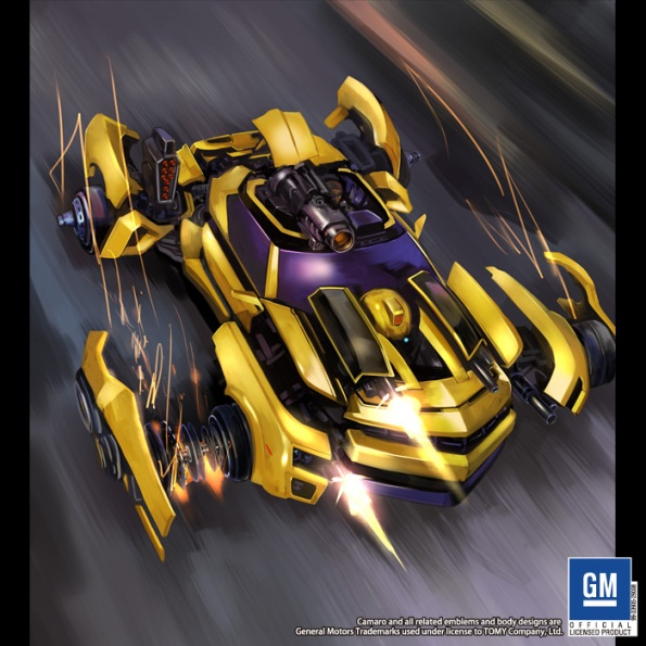 Bumblebee Concept-Heat Scramble Booster Pack #2 Artwork