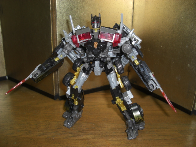 DOTM Darkside Optimus Prime - robot mode