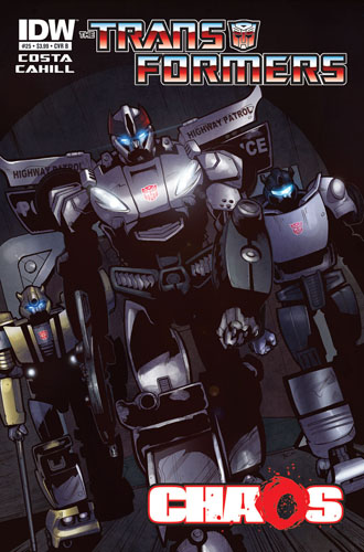Transformers Ongoing Preview #25