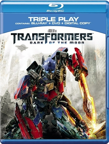 Transformers Dark of the Moon Bluray Cover