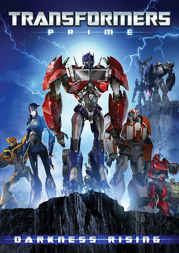Transformers Prime Darkness Rising DVD Cover
