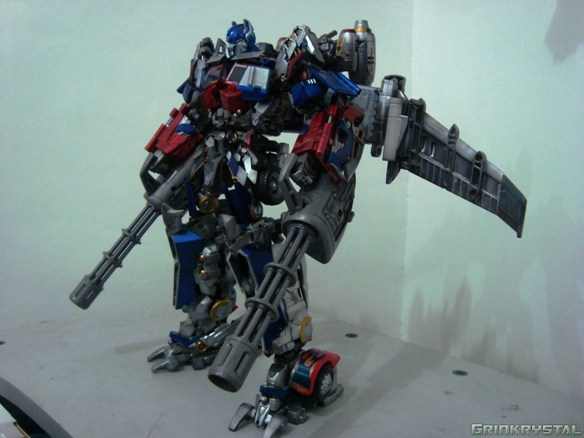 Ultimate Custom Optimus Prime