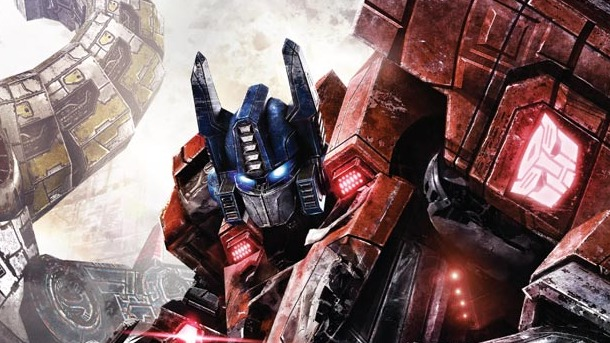 gameinformer Transformers Fall of Cybertron - cover