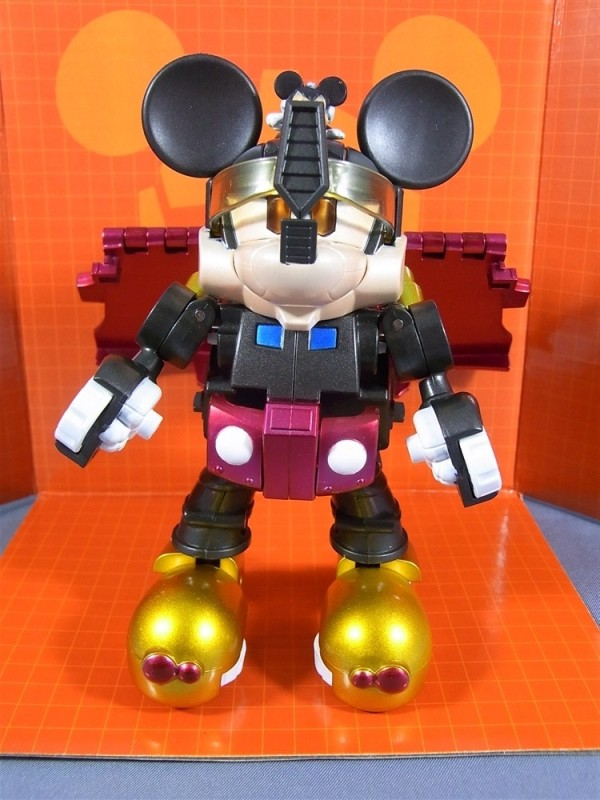 Transformers Disney Label Mickey Mouse