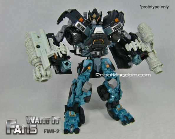 Leader Ironhide FWI Cannons