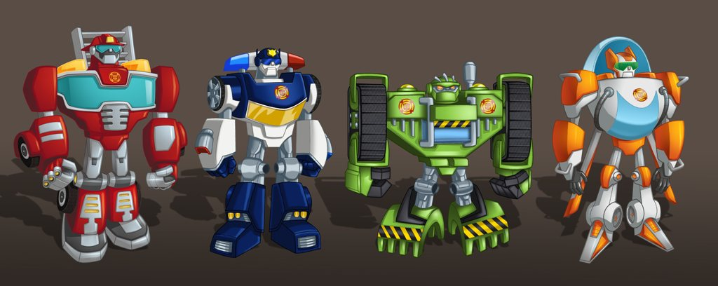 New RescueBot Bots Image