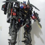 Power Up Optimus Prime-Side