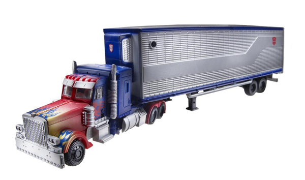 Movie Trilogy Optimus Prime with Trailer