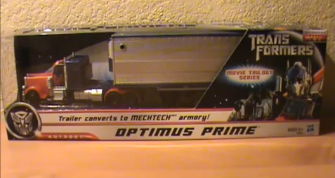 Optimus Prime with Trailer Review - Movie Trilogy Series