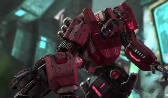 New Transformers Fall of Cybertron Official Trailer