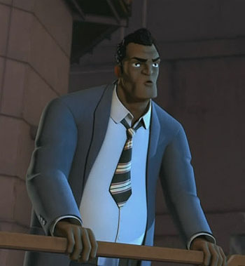 Transformers Prime Agent Fowler