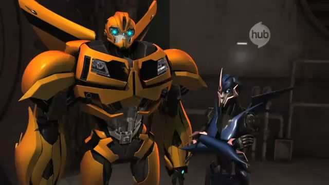 Transformers Prime - Arcee and Bumblebee