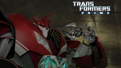 Transformers Prime Tunnel Vision - Knockout